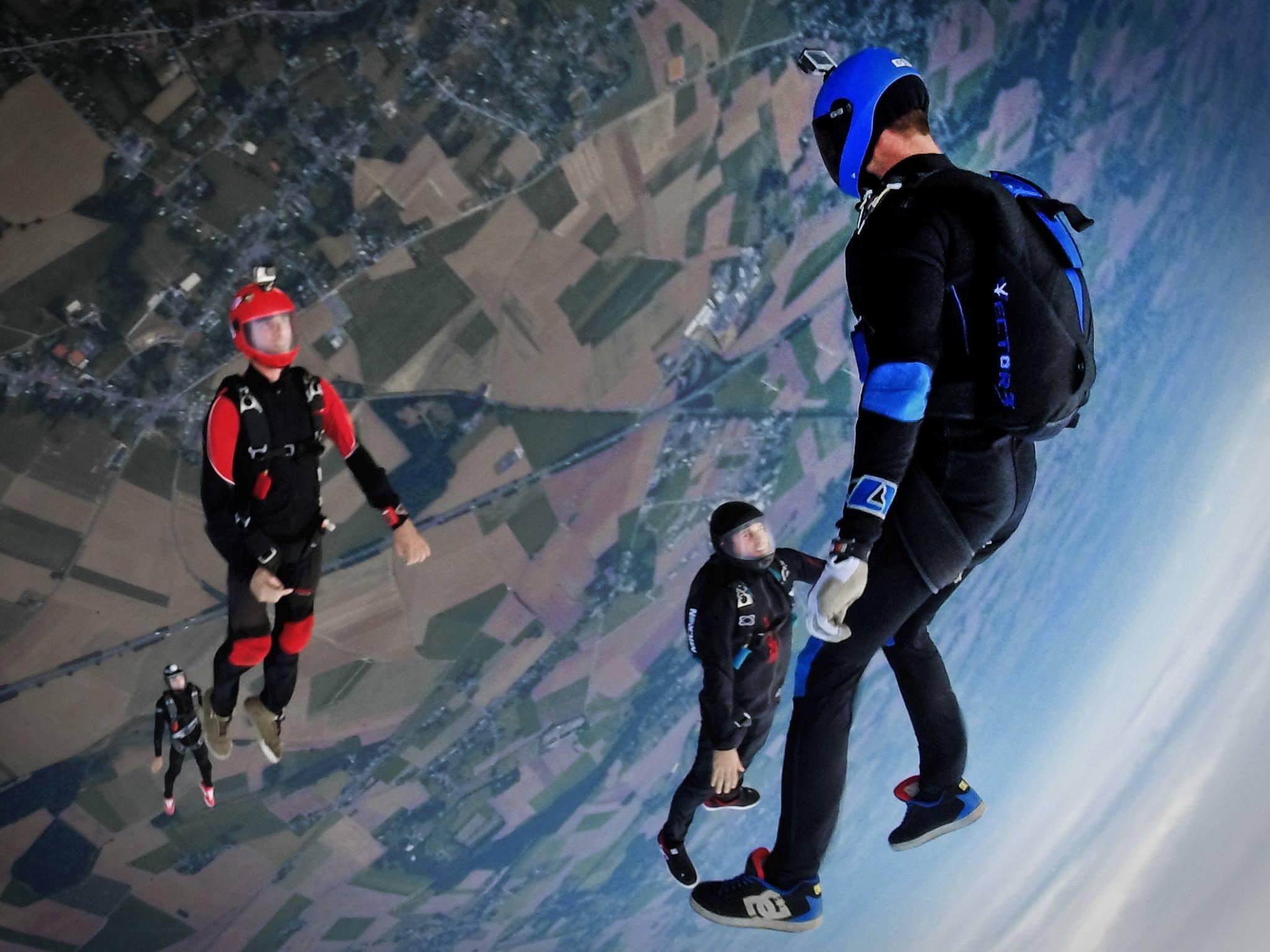 paraşütle atlama